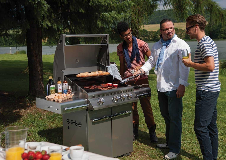 zadaszony taras grill Triumph