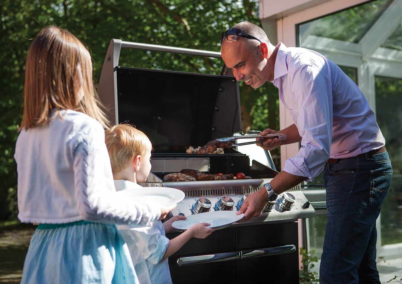 grill na tarasie