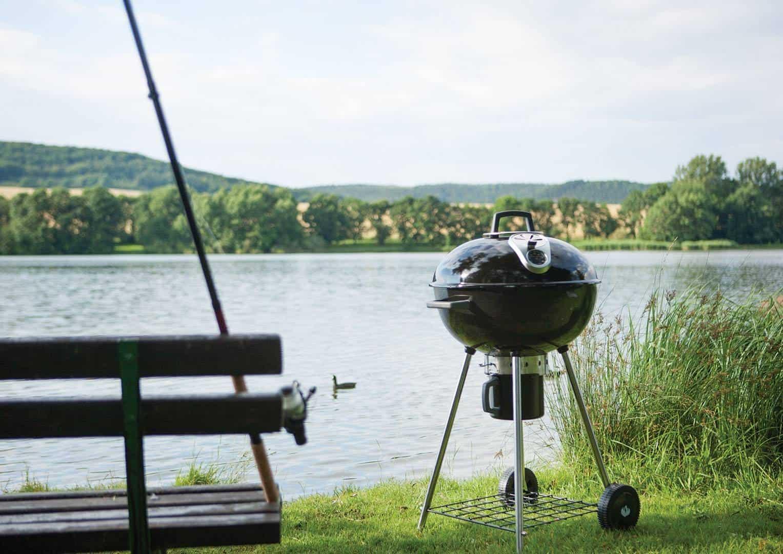 grill zewnętrzny węglowy
