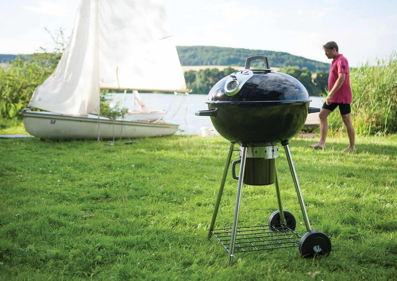 Grill ogrodowy węglowy NK22CK-L z nogami