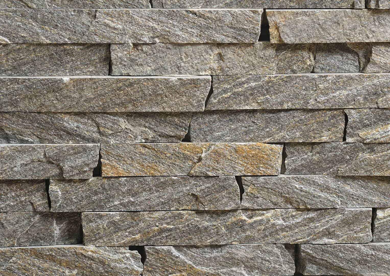 Srebrzysty mur