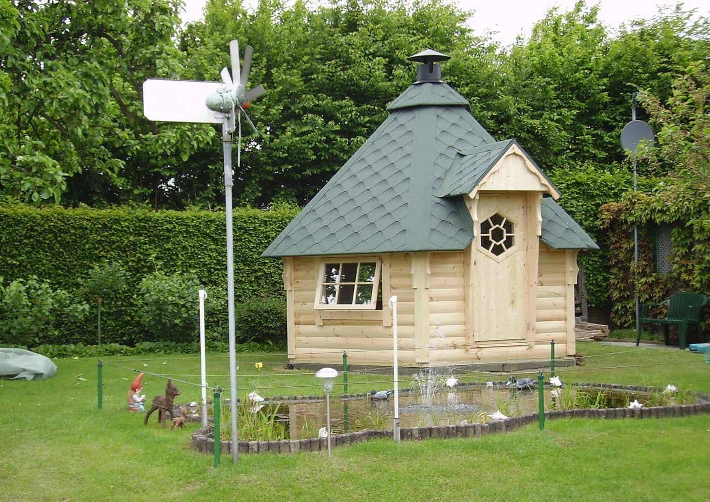 Na zdjęciu domek ogrodowy - DOMEK GRILLOWY 9,3M2