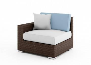 poduszki na taras: Wypełnienie poduszki oparciowej Milano