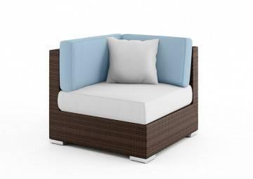 poduszki na taras: Wypełnienie poduszki oparciowej el.narożny 82cm Milano