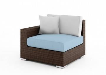 poduszki na taras: Wypełnienie do poduszki siedziskowej Milano