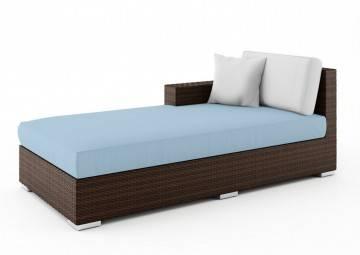 poduszki na taras: Wypełnienie do poduszki siedziskowej szezlong Milano