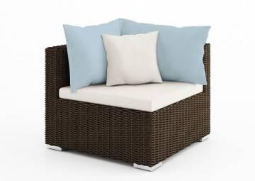 poduszki na taras: Wypełnienie do poduszki oparciowej el.narożny 82cm Venezia