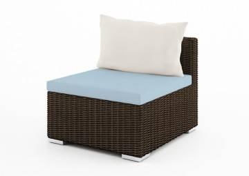 poduszki na taras: Wypełnienie do poduszki siedziskowej 72x72 cm Venezia