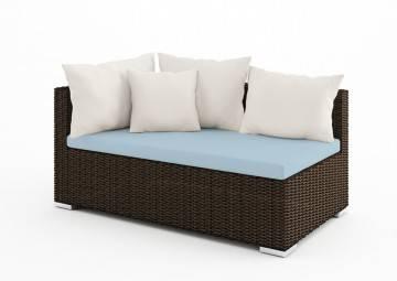 poduszki na taras: Wypełnienie do poduszki siedziskowej 140x72 cm Venezia