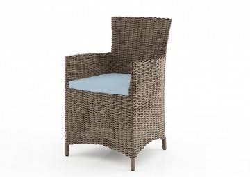 poduszki na taras: Wypełnienie poduszki na fotel Amanda