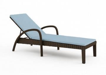 poduszki na taras: Wypełnienie do poduszki na Leżak Grazia grubość 4 cm