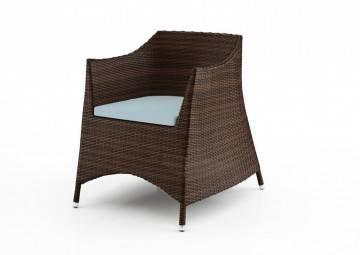 poduszki na taras: Wypełnienie do poduszki siedziskowej fotela Leuca