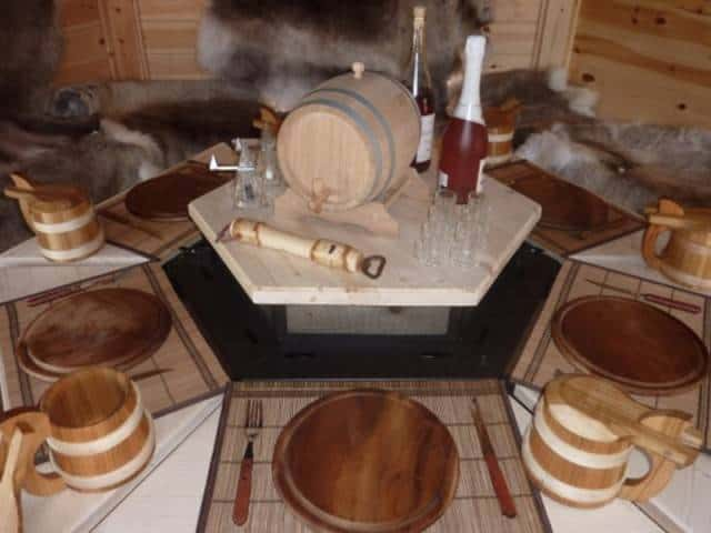 Stół - nakładka na grill