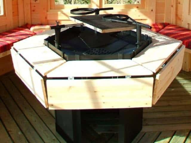 Stół na zaczepach składany