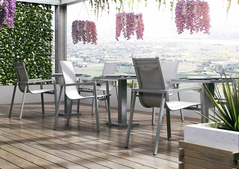 Zestaw mebli ogrodowych z aluminium VIGO 2