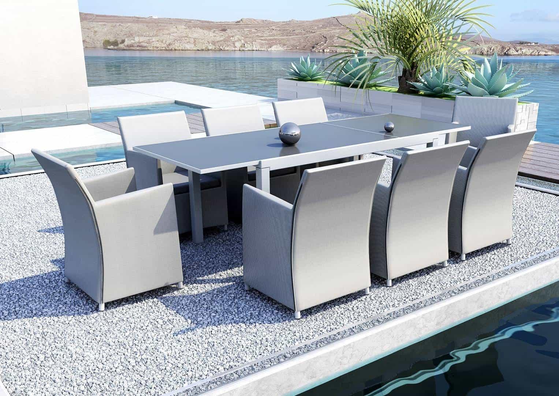 Aluminiowe meble ogrodowe TOLEDO