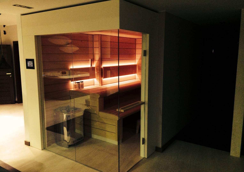 Na zdjęciu sauna - SAUNA BESTLINE WNĘKOWA I