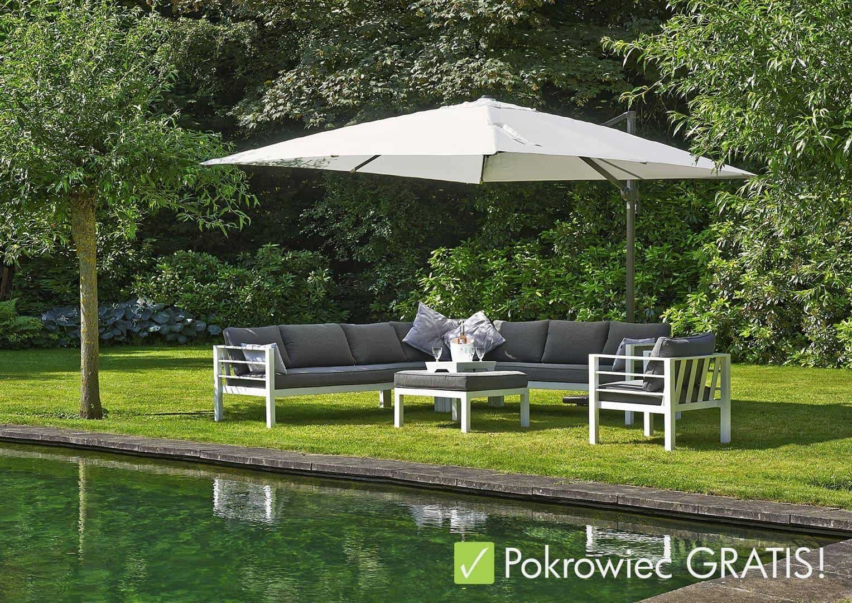 Na zdjęciu parasol ogrodowy - Parasol ogrodowy SolarFlex T¹