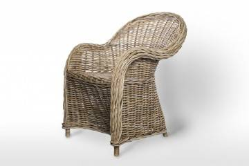 meble: Fotel rattanowy VERSAILLES naturalny