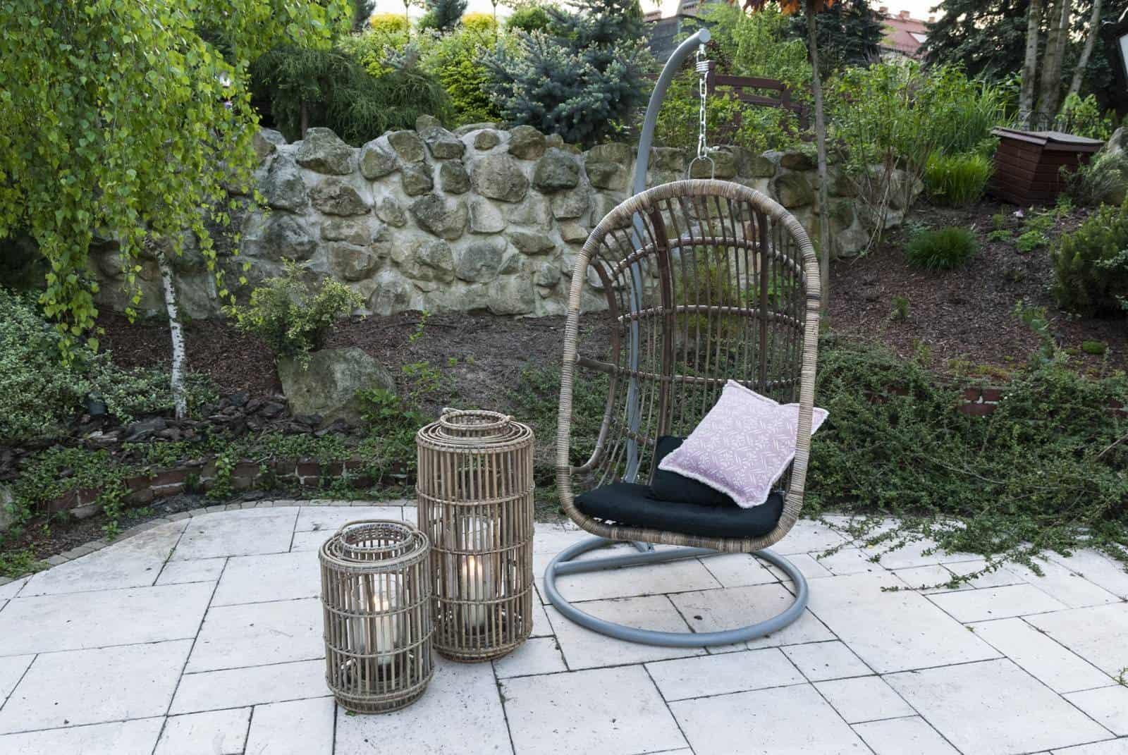 fotel kokon stojący Nice