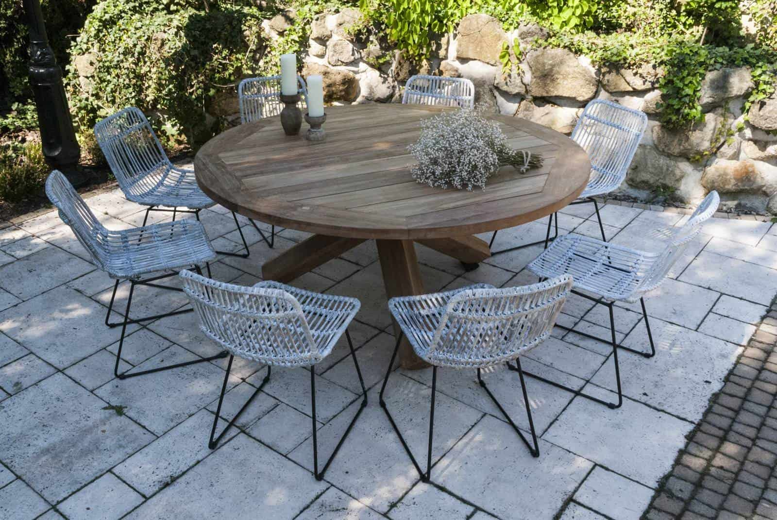 krzesła do ogrodu DINAN