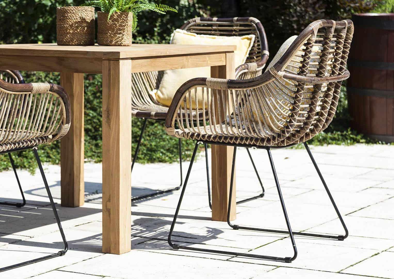 designerskie meble na taras krzesło Laval