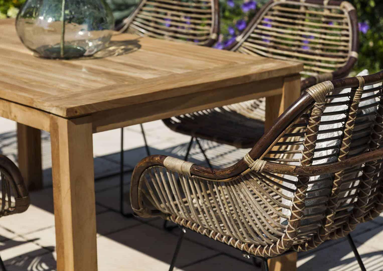stół ogrodowy z krzesłami - krzesło LAVAL