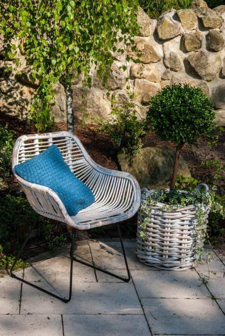krzesło rattanowe LAVAL