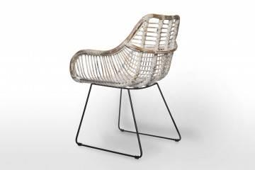 Krzesło rattanowe retro LAVAL