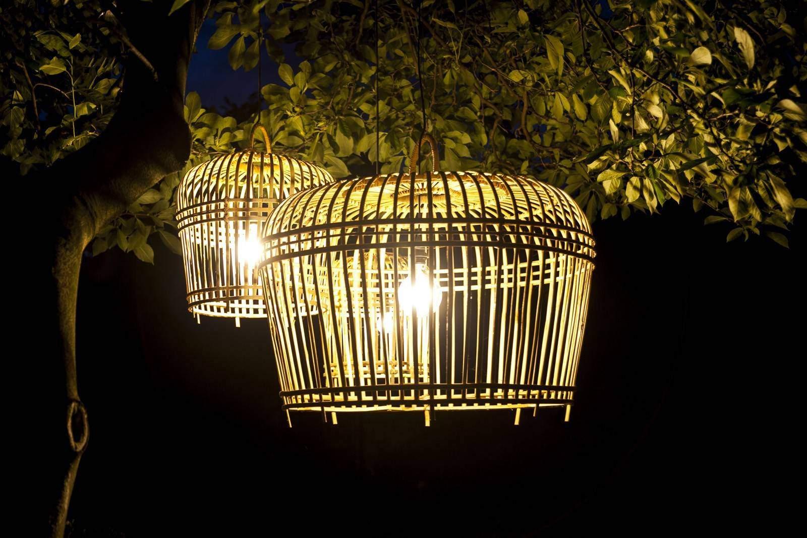 Lampa bambusowa TOULOUSE