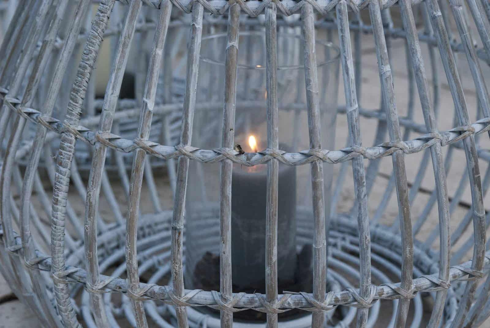Lampion okrągły CAEN