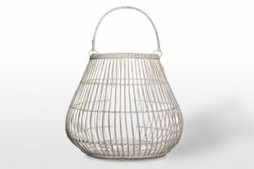 Last Minute do -40%: Lampion okrągły CAEN ⌀69cm x wys. 59cm white