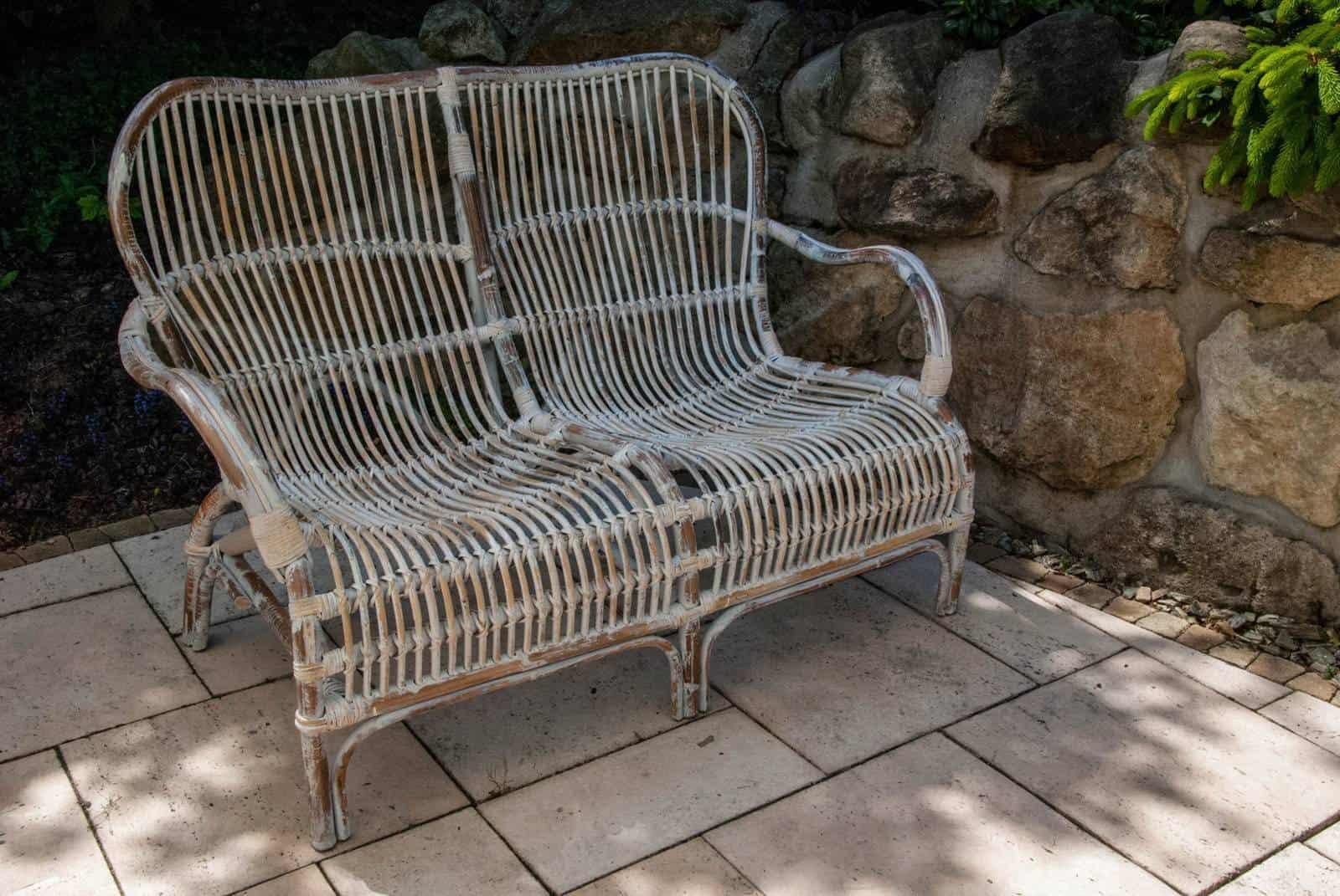 sofa ogrodowa rattanowa CANNES