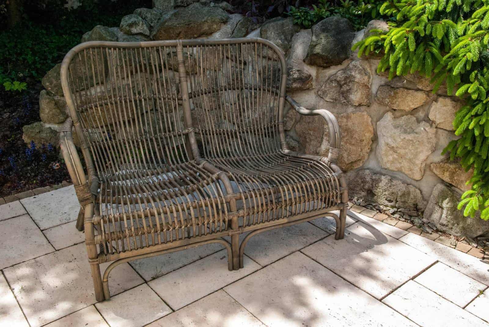 Sofa rattanowa CANNES