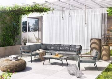 patio meble ogrodowe: Meble ogrodowe LUGO