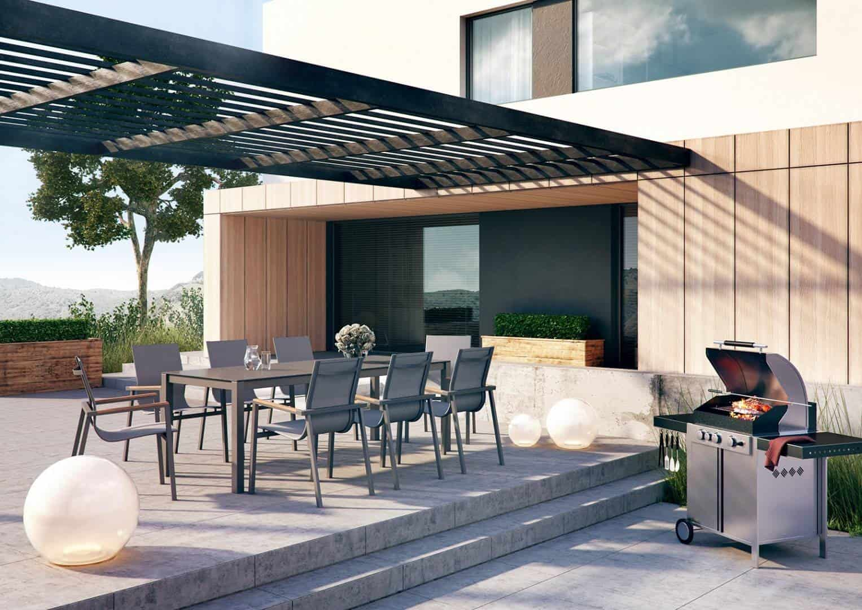 Ogród nowoczesny: inspiracje. Krzesło ALICANTE TEAK STONE&WOOD