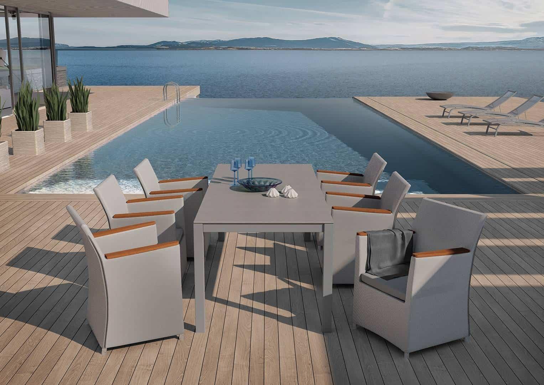 fotel na balkon model Merida