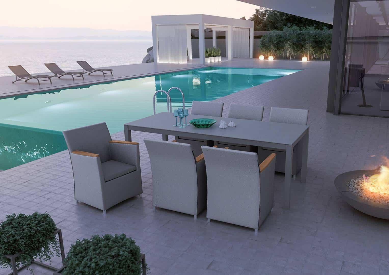 Fotel ogrodowy MERIDA teak - STONE&WOOD