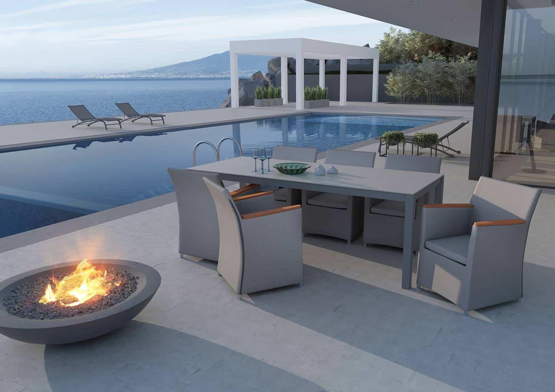 Jak wybrać meble ogrodowe: fotel MERIDA STONE&WOOD
