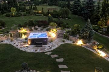 SPA i jacuzzi do ogrodu: SPA ogrodowe HAMILTON