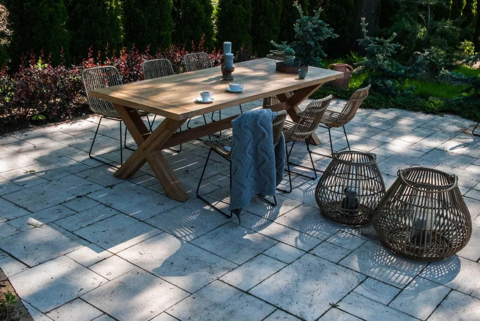 Stół ogrodowy teak LYON