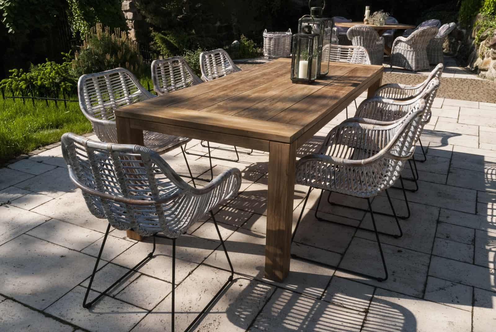 Stół ogrodowy teak NIMES
