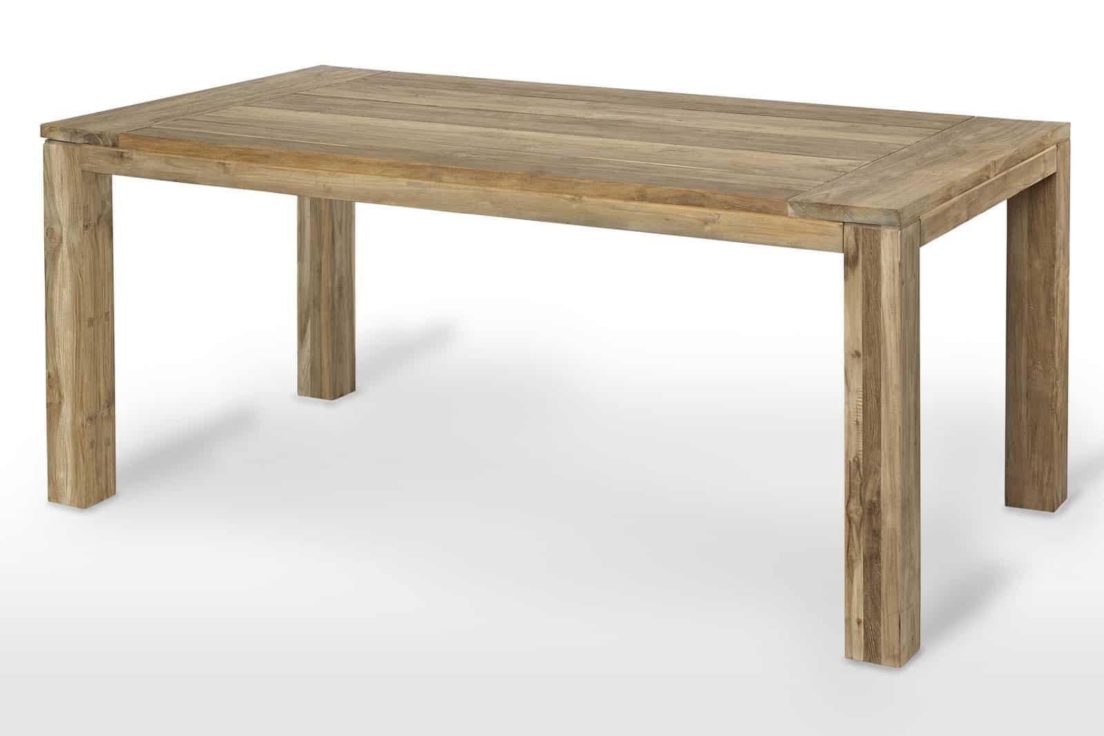 Zestaw rattanowy ogrodowy stół Nimes