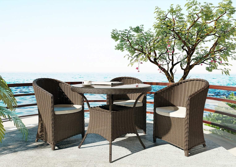 Fotel ogrodowy DOLCE VITA royal piaskowy