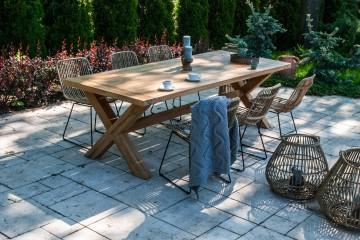 zestawy ogrodowe z rattanu: Meble ogrodowe LYON I