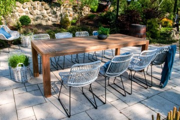 patio meble ogrodowe: Meble ogrodowe NIMES II