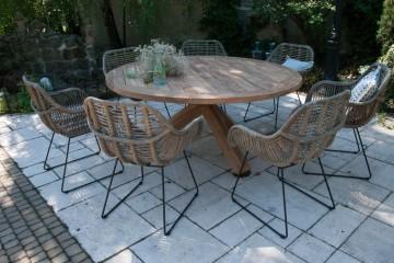 patio meble ogrodowe: Meble ogrodowe BORDEAUX II