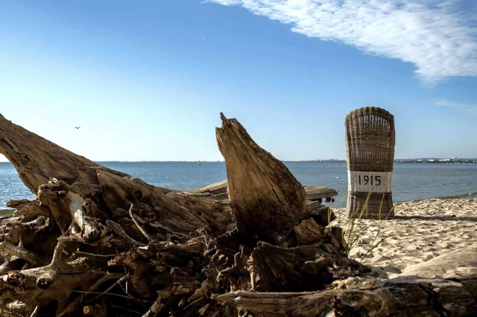 Kosz rattanowy plażowy ST TROPEZ