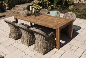 patio meble ogrodowe: Meble ogrodowe NIMES IV