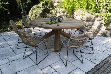 zestawy ogrodowe z rattanu: Meble ogrodowe BORDEAUX IV